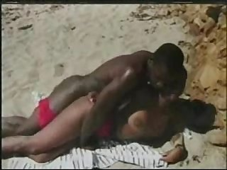 Drtuber com horny ebony beauty is having nice banging on the hot beach free porn videos sex movie