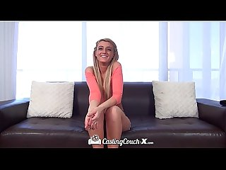 Castingcouch X cutie lyn hoyt proves she is right for the job
