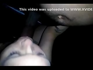 White girl sucks swallows bbc cum