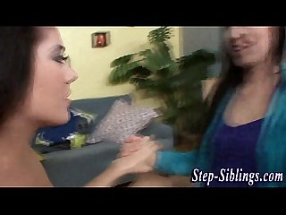 Stepsister teens nipple sucking