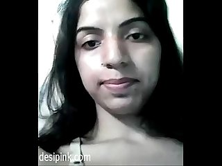 Desi girl samrita self made her nude Desi video