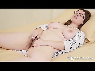 Yanks babe patience morgan masturbates