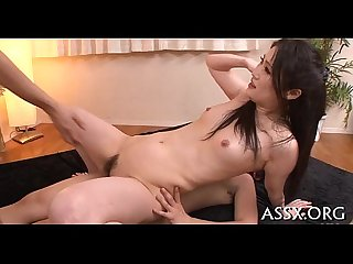 Perverted oriental anal toying