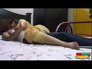 Desi college girl sonam in night dress fucked hard