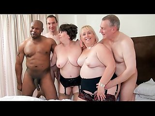 Group grannies orgy