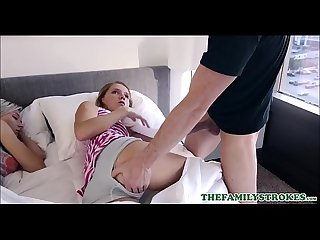 Hot Young Blonde Teen Step Daughter Hollie Mack Woken Up And Fucked By Step Dad In Front Of..