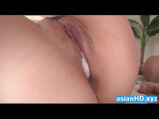 Young japanese girl gets pussy creampie hd ti