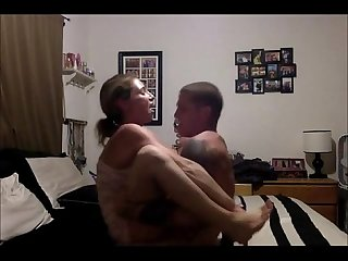 Horny young couple sex