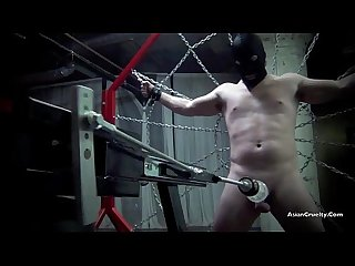 RESTRAINED AND DRAINED The Milking Of A Male Slave! Starring Goddess Gia