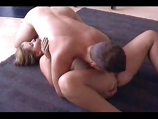 Teen couple do position 69 and then fuck