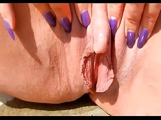 Watch mom squirt as she plays w her big clit join freee at moistcamgirls com