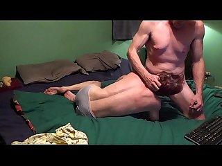Milf sucking big dick on chaturbate