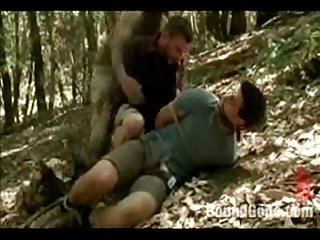 Nasty kinky gay sex in the wild