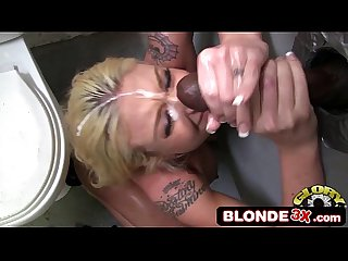 Interracial monster cock cumshot compilation 10 gloryhole edition