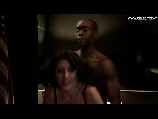 Lisa edelstein doggystyle sex scene black lingerie house of lies s02e05 2013