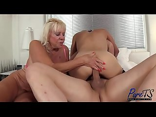 Kelli christian granny to a threesome 12 07 2017