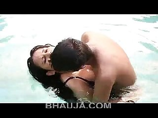 Bhabhi hot romance at swimming pool hindi hot short film 2016 bhauja com