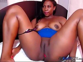 Thick ebony bbw spreading kacylive com