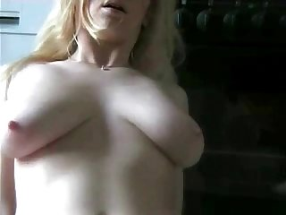German Big Boob Amateur Orgasm