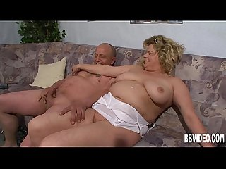 German bbw milf gets take dick