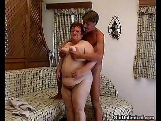 Dirty mature housewife goes crazy