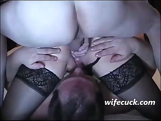 Cuckold my wife fucks in anal cleanup