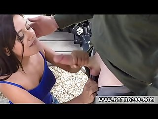 Fake police cop ebony and fucks prisoner first time They gave chase