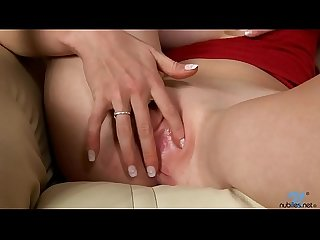 Nicol from nubiles touch her clit