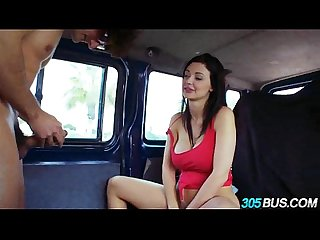 Big Titty Beauty Aletta Ocean fucked on the 305bus.4