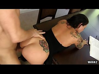 Maci maguire fucks talon with her hot ass hd