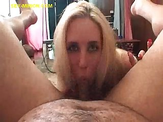Blowjob for small and soft cock