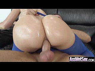 Big ass girl anikka albrite get oiled and hard anal nailed on camera movie 02