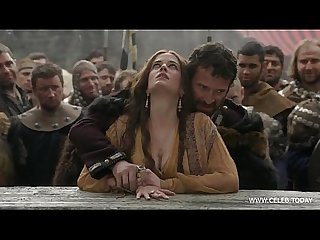Eva green naked in public woods camelot s01e02 www celeb today