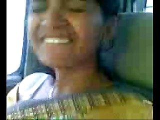 Desi tamil bhabhi sex in car with her boyfriend fun with boobs