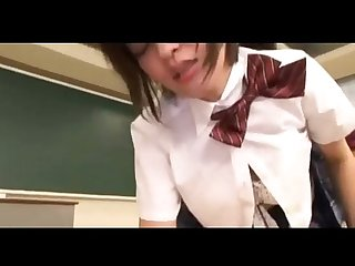 Japanese schoolgirl Forced to suck cock and getting her hairy pussy fucked by the cleaner aangzxxx