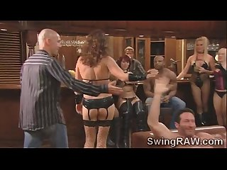 Naughty party in the swingers mansion makes couples go wildavid and christine 2