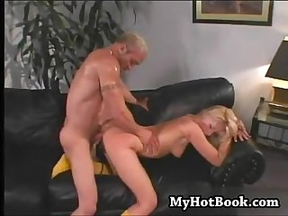 Stacy thorn looks up all eager and ready to pleas