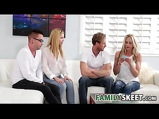 Family game night familysex with alina west
