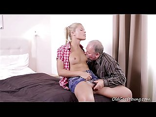 Old goes young elena can t believe how good this old man is at having sex
