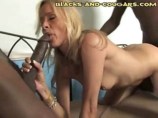 Black cocks on both sides
