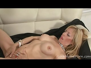 Blonde milf with big tits gets fucked hard