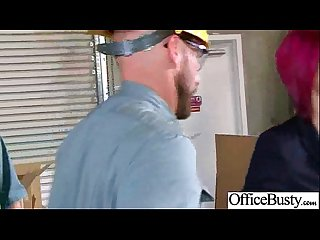 Horny girl Anna bell peaks with big juggs hard banged in office mov 04
