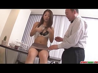 Satomi suzuki Dildo fucked and licked on clit by older man more at japanesemamas com