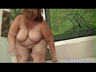 Lovely ssbbw cocksucking before doggystyle