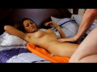 The best oil massage give at my wife
