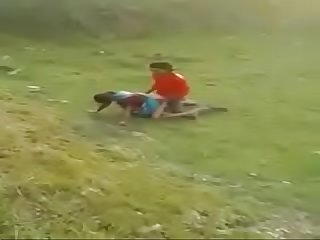 Desi Randy Bhabi Fucking Back in Field