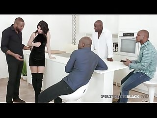 Private Black - Sweet Lady Dee Gets Gangbanged By 4 BBCs!