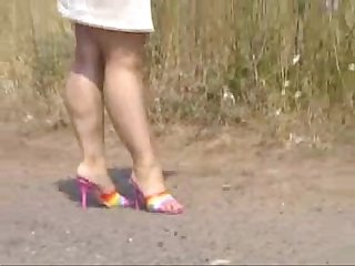 Mature indian bbw mules walk