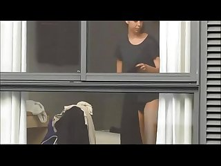 Lady Caught Undressing On Spycam