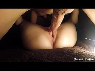 4K Close Up Pussy Licking with Intense Orgasm and Hard Fuck - Young Amateur Secret Muffin